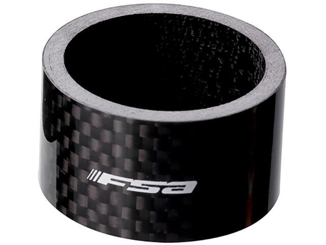 FSA Spacer Carbon 1 1/8 x 20mm black